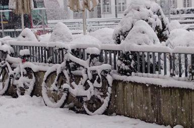 cykla inomhus på vintern