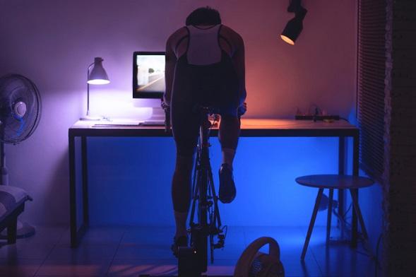 Gå ner i vikt med cykling i hemmet